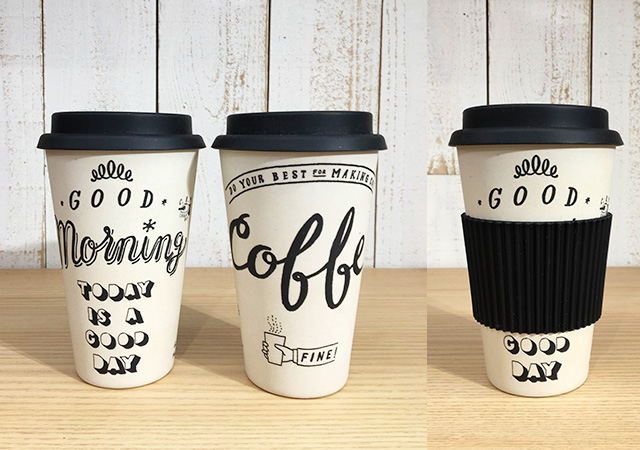 CHALK BOY COFFEE TUMBLER