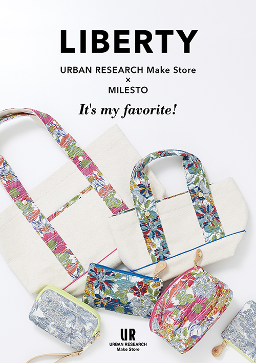 URBAN RESEARCH Make Store × MILEST LIBERTYシリーズ新作登場!!