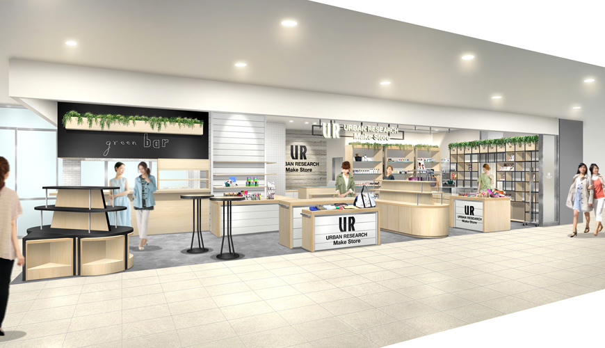 2016年3月31日(木) URBAN RESEARCH Make Store 東急プラザ銀座店 NEW OPEN