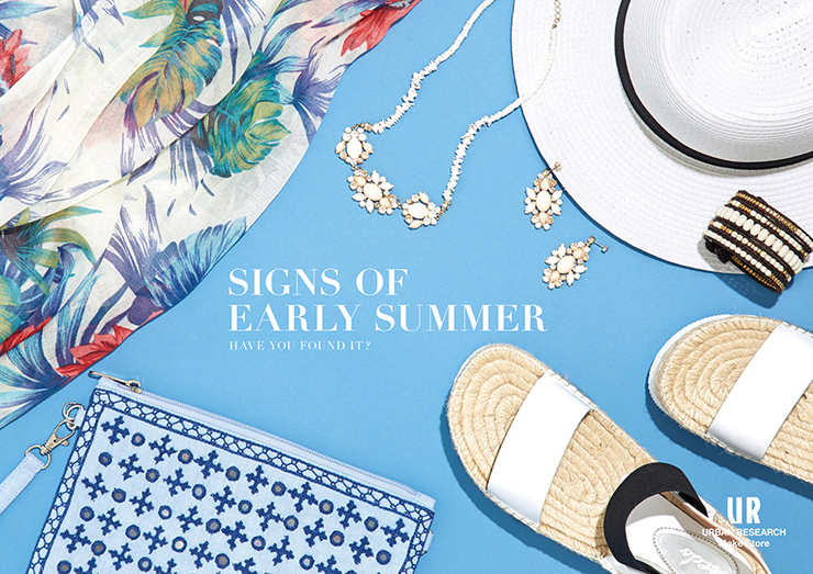 signs of early summer 開催 urban research make store アーバン