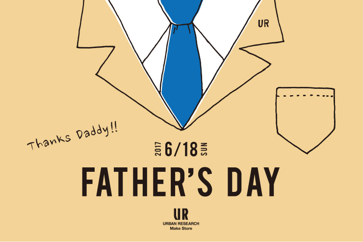 「FATHER'S DAY FAIR」開催