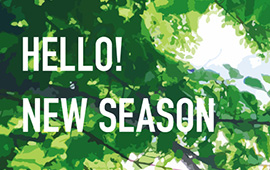 HELLO! NEW SEASON